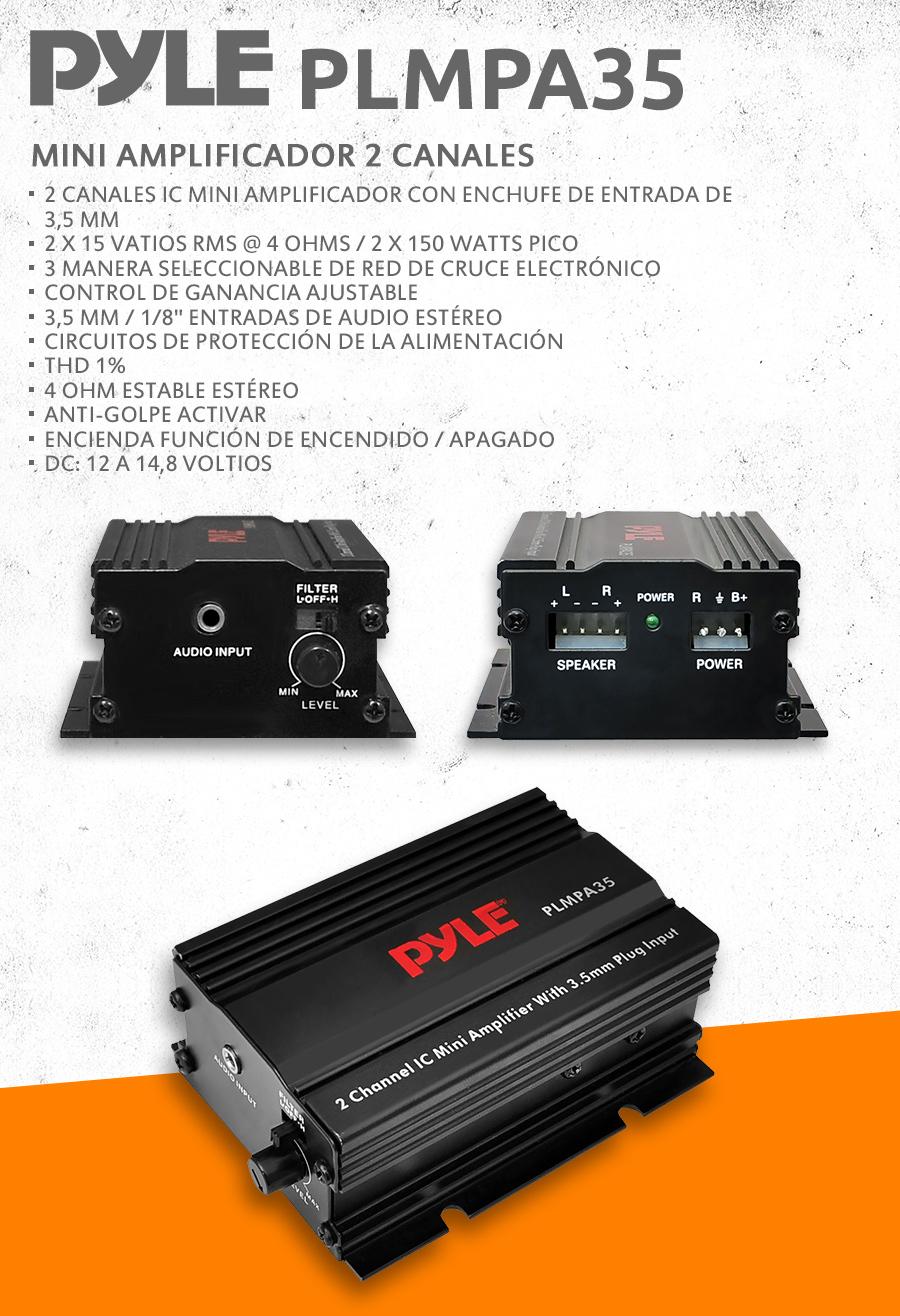 Pyle - PLMPA35